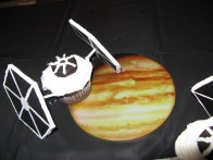 Star Fighter Cupcake