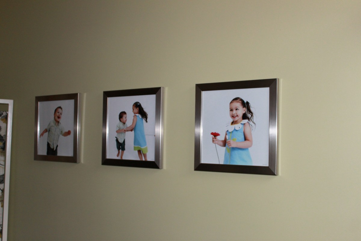 Hang Pictures in 3's