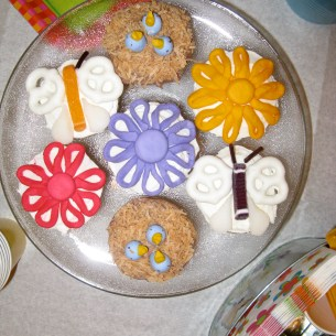 Spring Party Cupcakes