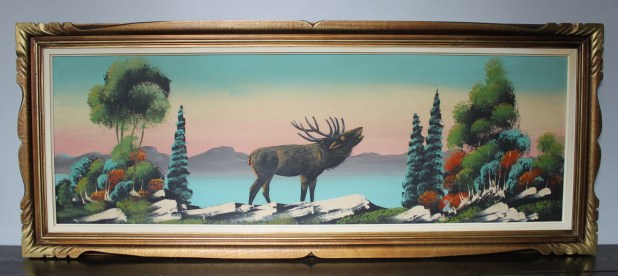 Vintage Thrift Store Painting