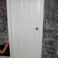Priming Chalkboard Wall
