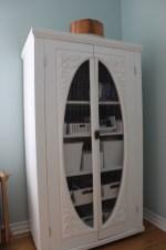 Refinished wardrobe