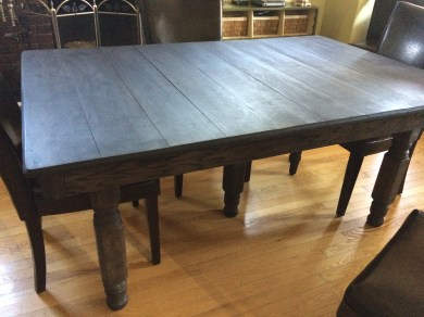 Planked Oak Table