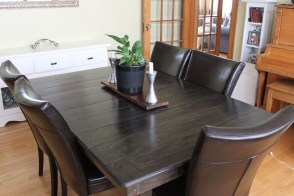 Upgraded Dining Room Table