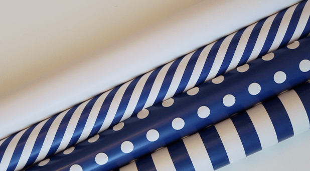 Coordinating Gift Wrap for Multiple Gifts