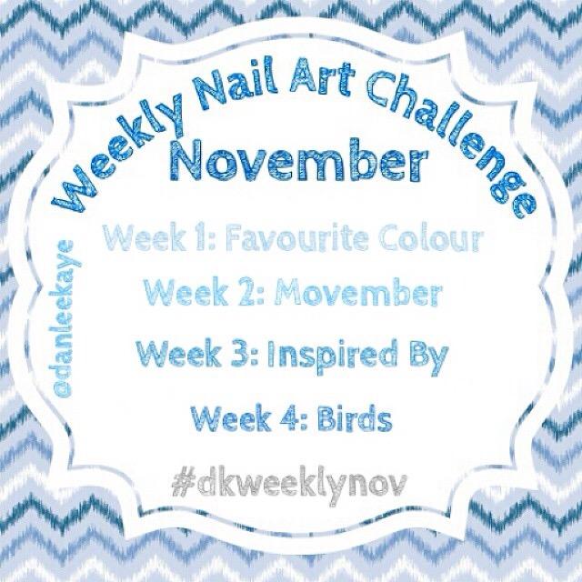 Weekly Nail Art Challenge November