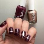 Gift Wrap Nail Art