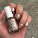 Rose Gold and Gold Nails