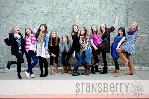 YL freshman girls-1550