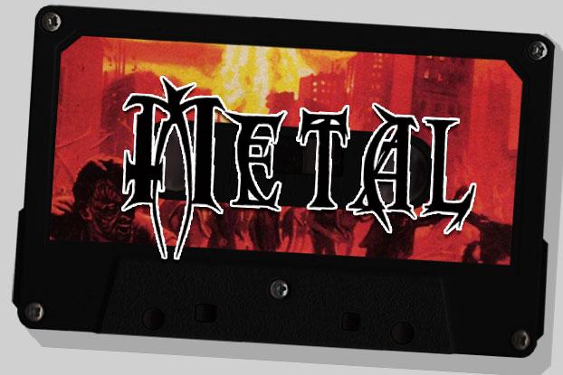 "Cassette ""Metal"""