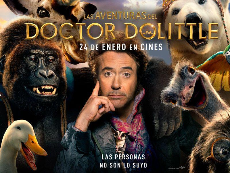 Las aventuras del Dr Dolittle