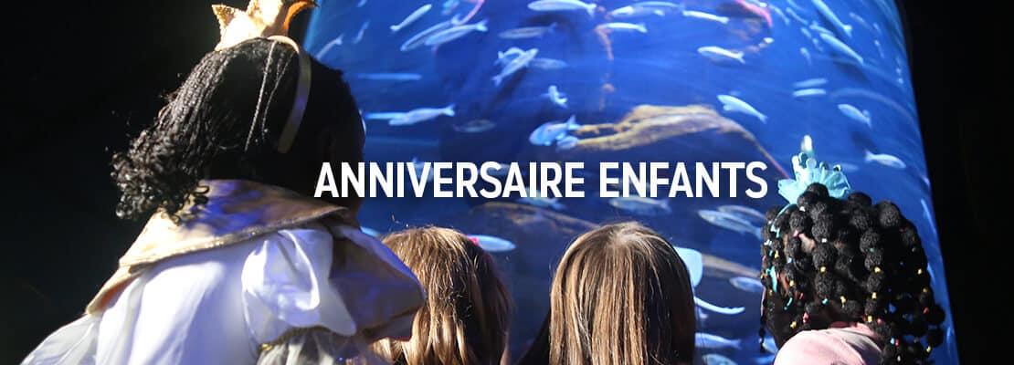 Fêter son anniversaire à l'Aquarium de Paris