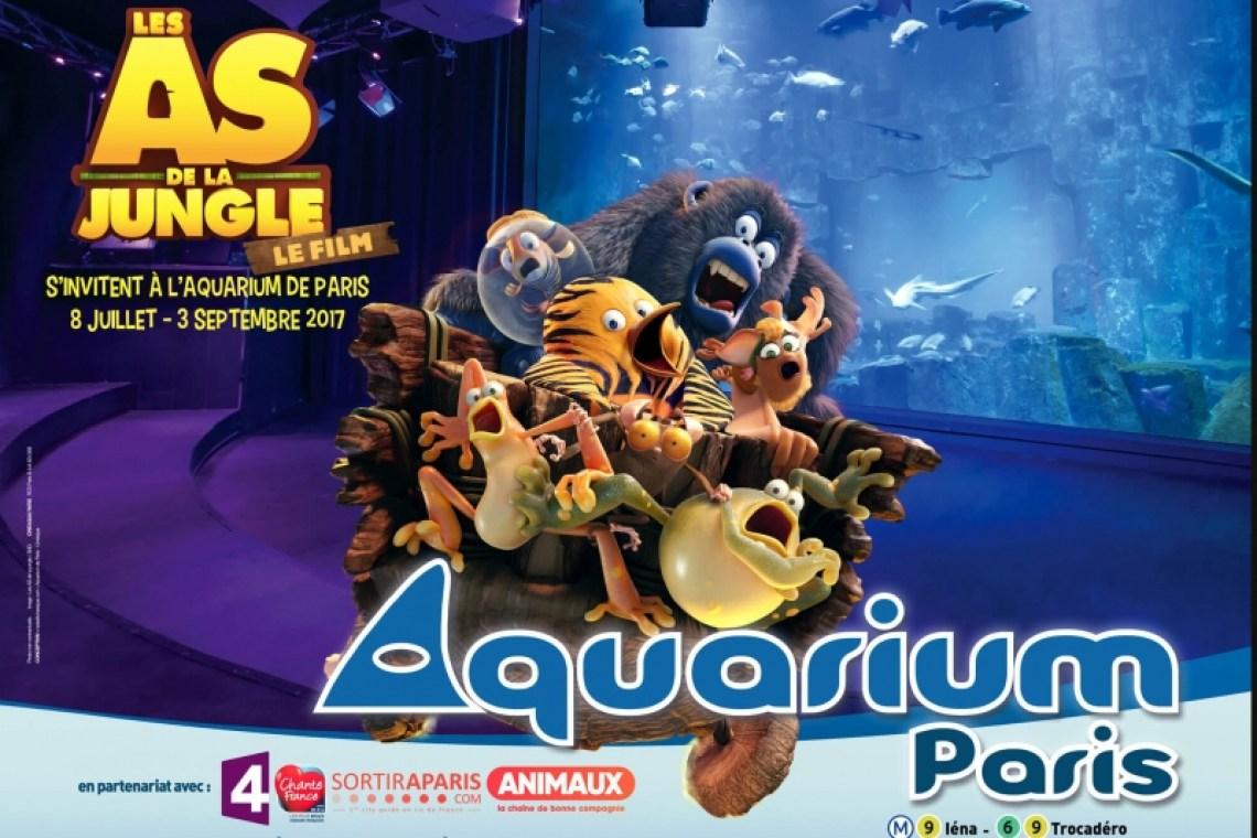 Exposition Les As de la Jungle- Aquarium de Paris