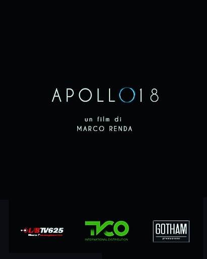 """La locandina di """"Apollo 18"""", cortometraggio di Marco Renda"""