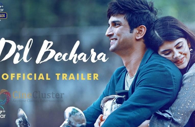 Sushant Singh Rajput's Dil Bechara Trailer Receives Wonderful Response