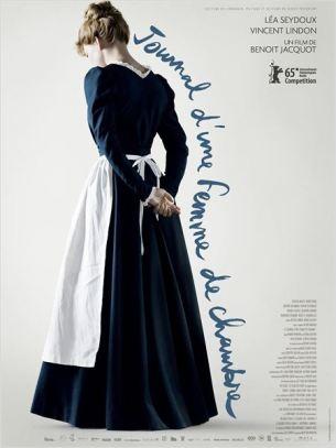 Au début du XXème siècle, en province. La très courtisée Célestine est une jeune femme de chambre nouvellement arrivée de Paris au service de la famille Lanlaire.  Repoussant les avances de Monsieur, Célestine doit également faire face à la très stricte Madame Lanlaire qui régit la maison d'une main de fer.  Elle y fait la rencontre de Joseph, l'énigmatique jardinier de la propriété, pour lequel elle éprouve une véritable fascination.  Film français de Benoît Jacquot, sorti en France le 1er avril 2015, avec Léa Seydoux, Vincent Lindon, Clotilde Mollet, Hervé Pierre et Vincent Lacoste.