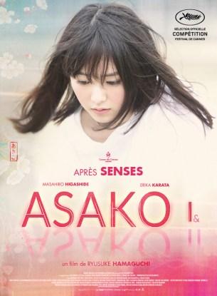 Lorsque son premier grand amour disparaît du jour au lendemain, Asako est abasourdie et quitte Osaka pour changer de vie. Deux ans plus tard à Tokyo, elle tombe de nouveau amoureuse et s'apprête à se marier... à un homme qui ressemble trait pour trait à son premier amant évanoui.  Film japonais de Ryusuke Hamaguchi, sorti le 2 janvier 2019 avec Masahiro Higashide, Erika Karata et Koji Seto.  LIRE LA CRITIQUE
