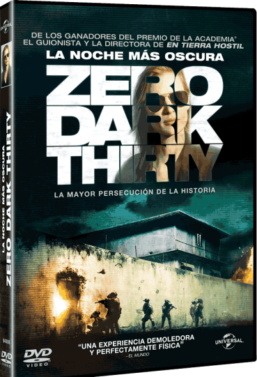 Zero Dark Thirty DVD Blue Ray