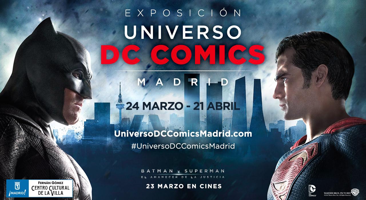 Universo DC Comics en Madrid