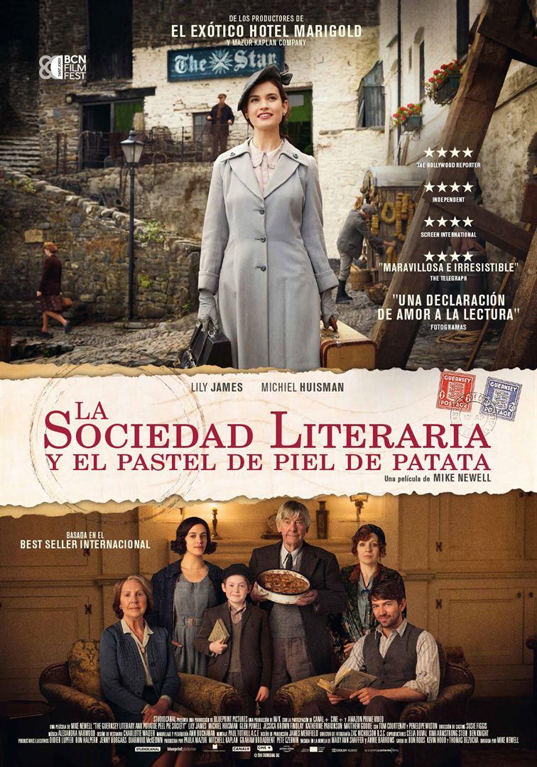 La sociedad literaria y el pastel de piel de patata-