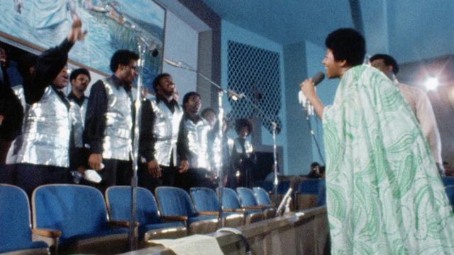 Amazing Grace de Sidney Pollack con Aretha Franklin