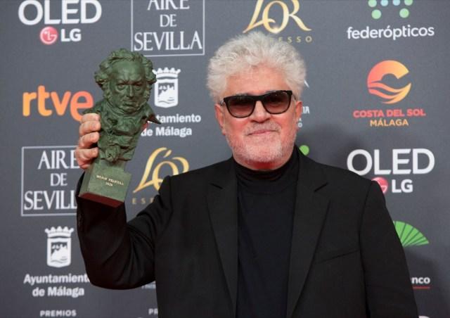 Premiados de Los Goya 2020: Pedro Almodóvar