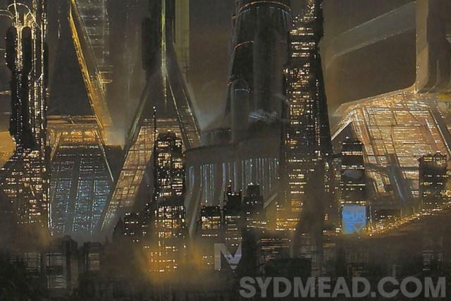Syd Mead Blade Runner