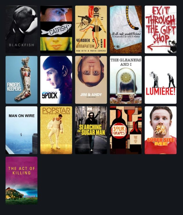 Documentales que ver en streaming