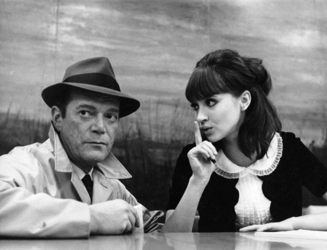 Películas de policías - Alphaville (Jean-Luc Godard, 1965)