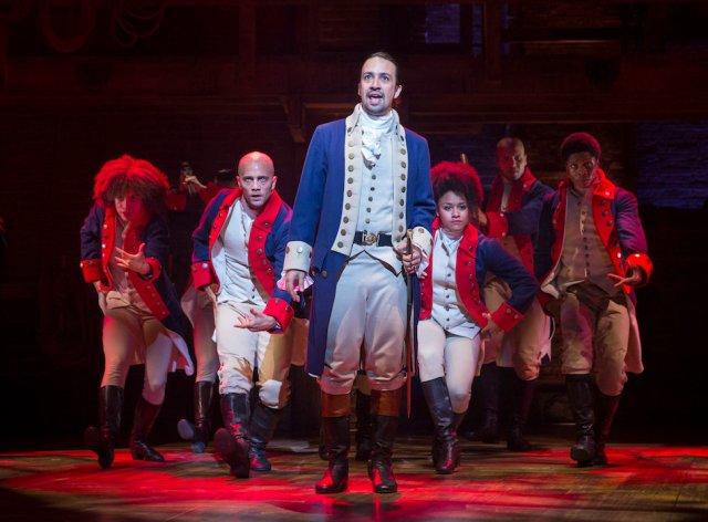 Lin-Manuel Miranda as Alexander Hamilton (Sara Krulwich/The New York Times)