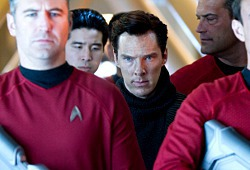 Benedict Cumberbatch in una scena