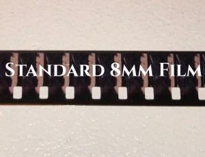 8mm Cine Film transferred by CineFilm2DVD.com Cine Film Guide
