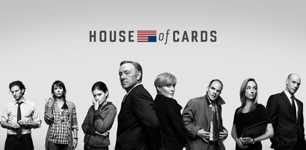 House of Cards blu-ray,