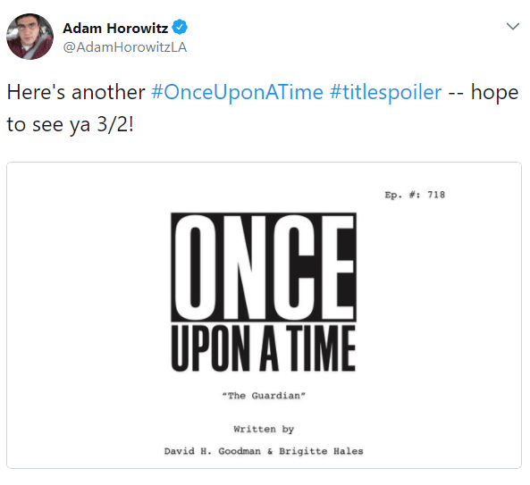 Once Upon a Time 7x18