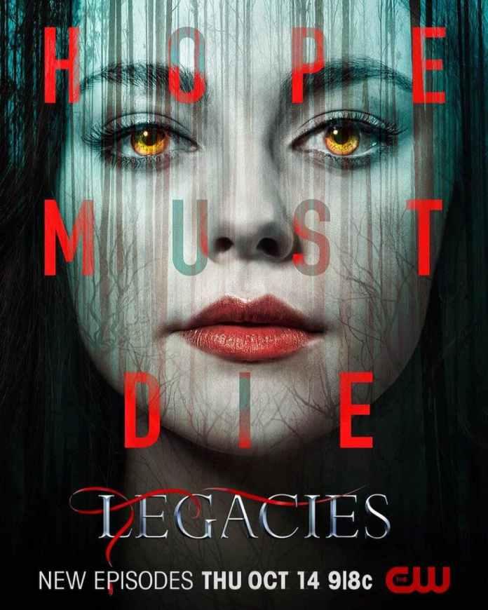 Legacies 4 poster