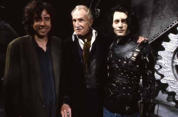 Tim Burton Edward mani di forbice