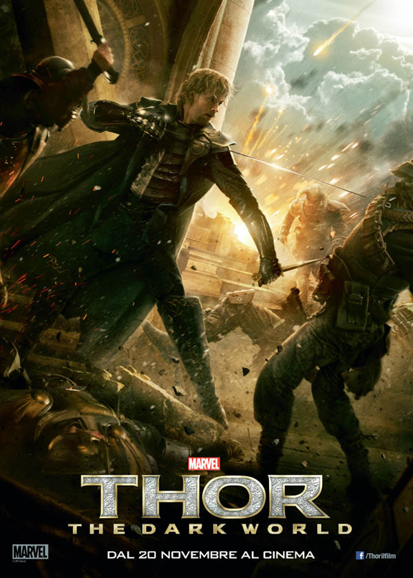 Thor The dark World Character poster