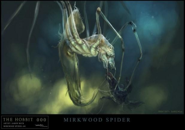 spider The Hobbit