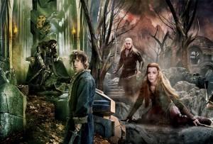 Lo Hobbit la Battaglia delle Cinque Armate maxi banner - Copia