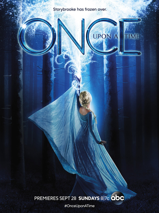 Once Upon a Time 4 poster elsa