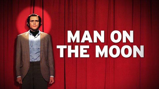 Jim Carrey man on the moon