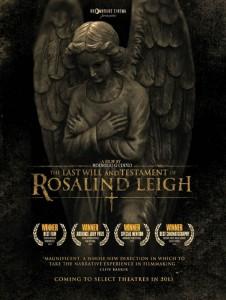 Testamento e ultime volontà di Rosalind Leigh poster