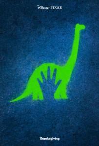 Il poster ufficiale di The Good Dinosaur