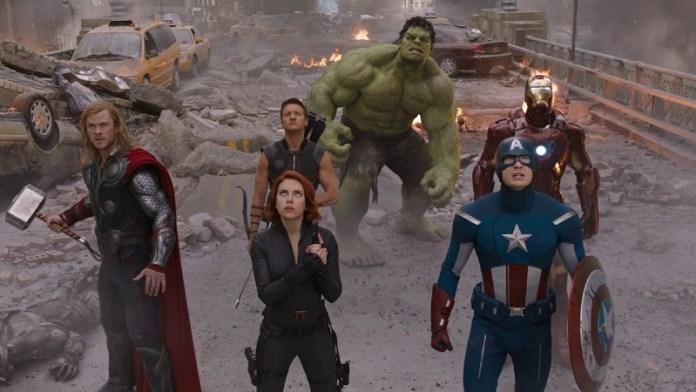 The Avengers MCU Fase 1 Avengers 4