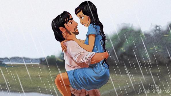 Aladdin e Jasmine Le pagine della nostra vita