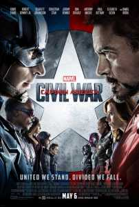 Captain America Civil War poster