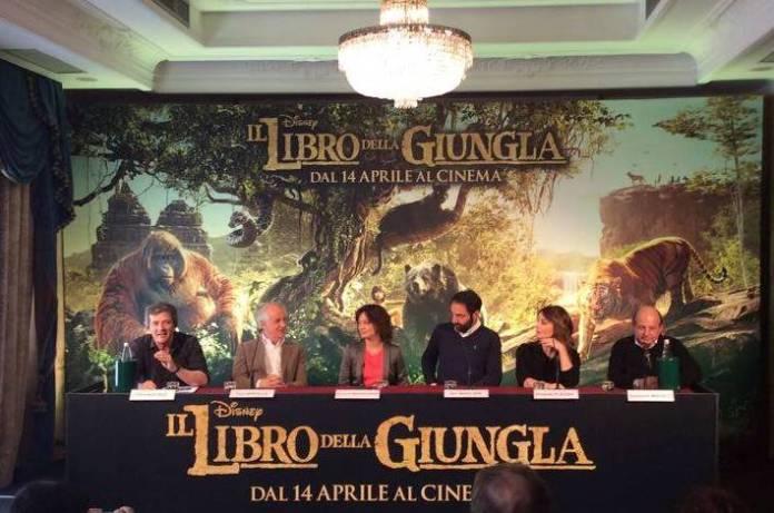 Il libro della giungla: incontro con i doppiatori italiani