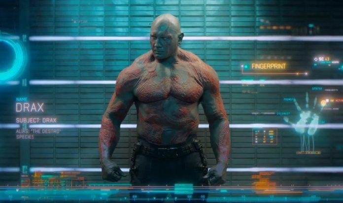 Drax il Distruttore avengers infinity war