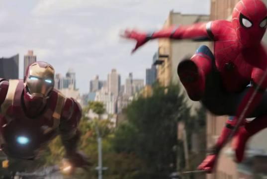spider-man homecoming iron man