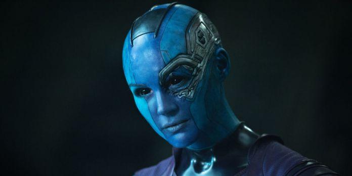 Avengers Infinty War - Nebula avengers 4